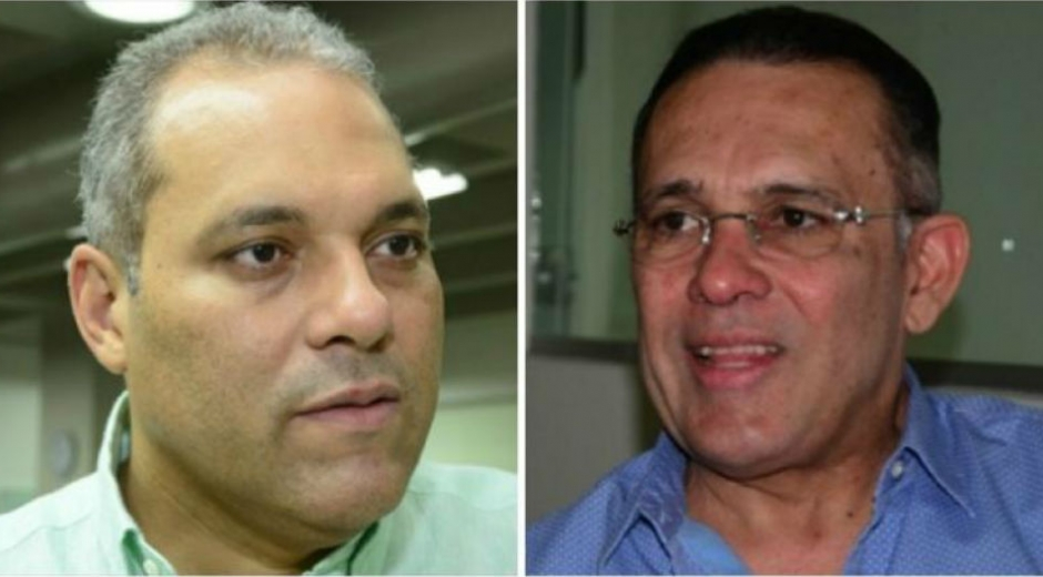 José David Name y Efraín Cepeda.