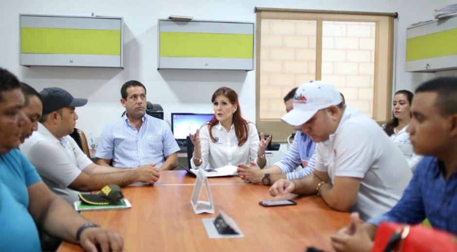 La Gobernadora del Magdalena hizo acompañamiento a familia de menor violada.