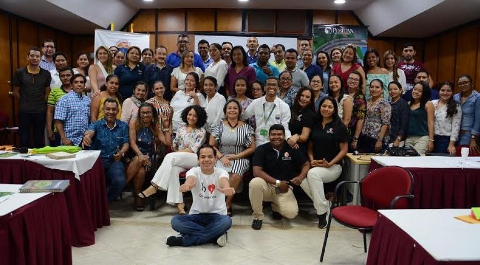Funcionarios, docentes, contratistas y estudiantes de prácticas de la Universidad del  Magdalena se certificaron como Entrenadores Lúdicos en Seguridad y Salud en el Trabajo -SST- .