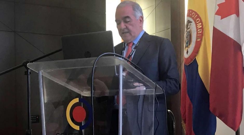 El Contralor General de la República, Edgardo Maya Villazón.