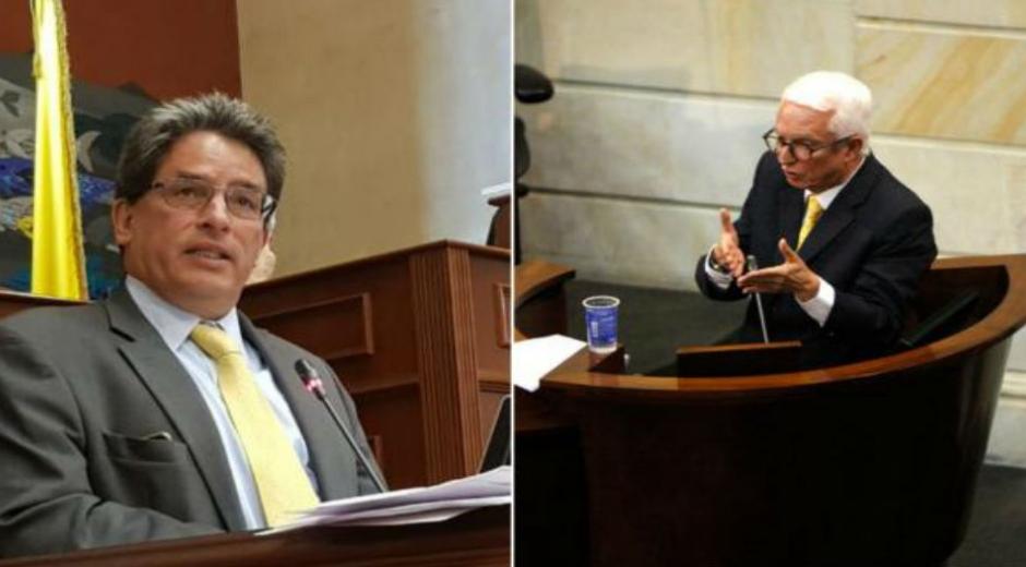 Alberto Carrasquilla y Jorge Robledo