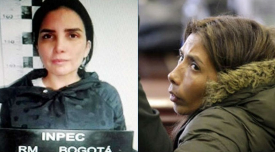 Aida Merlano y Blanca Jazmín Becerra.