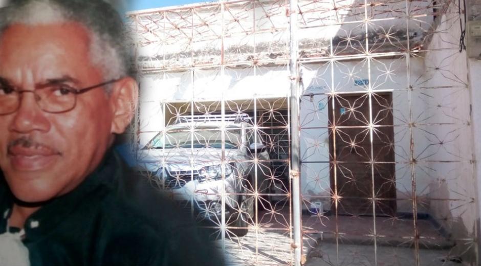 El señor Ariel Mejía Varela fue víctima de hurto en su vivienda, en la madrugada de este sábado.