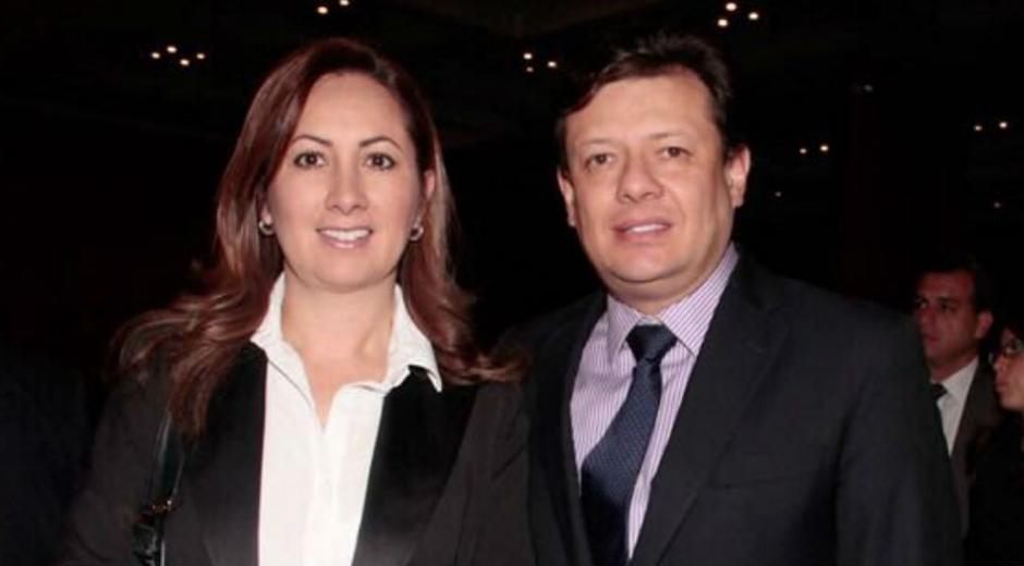 Holman Morris y su esposa Patricia Casas