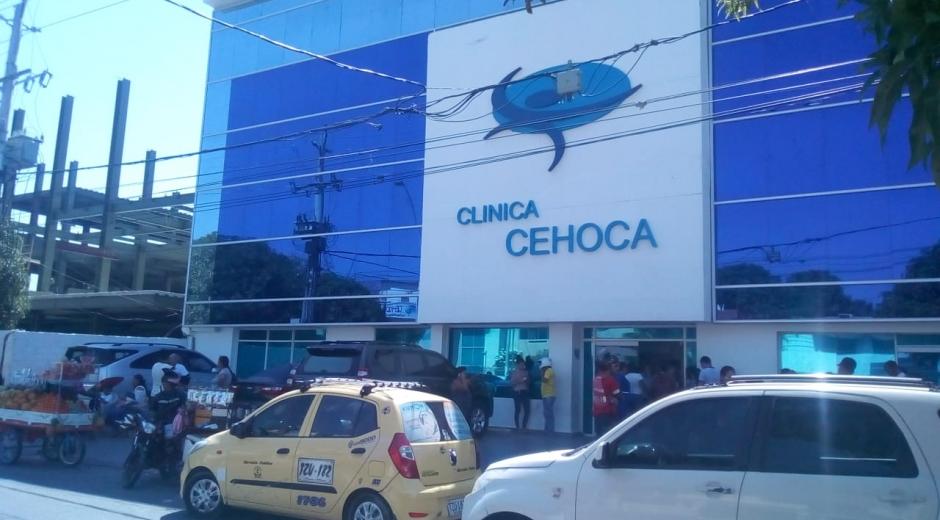 La niña está internada en la clínica Cehoca.