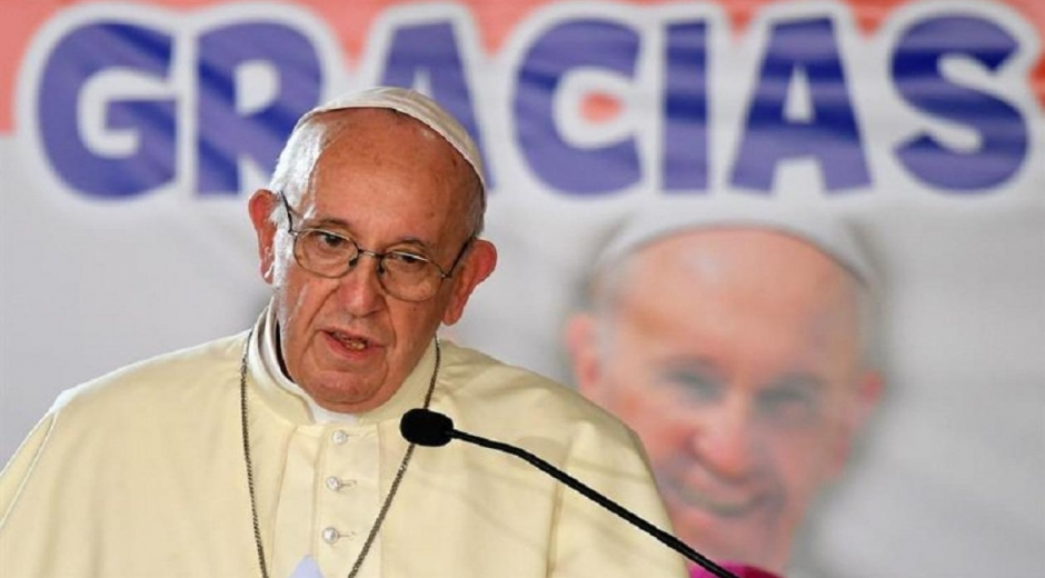 Papa Francisco en misa dominical en la JMJ