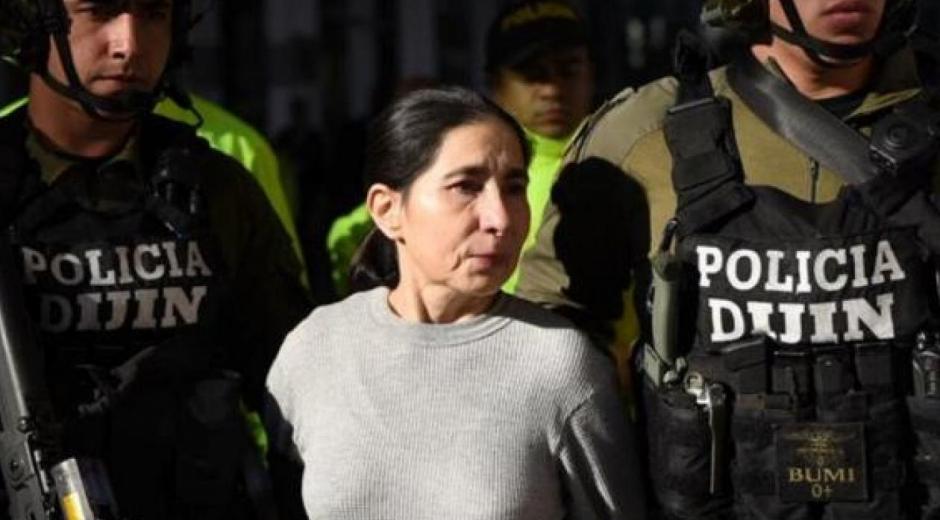 Anayibe Rojas Valderrama, alias Sonia, integrante de la FARC.