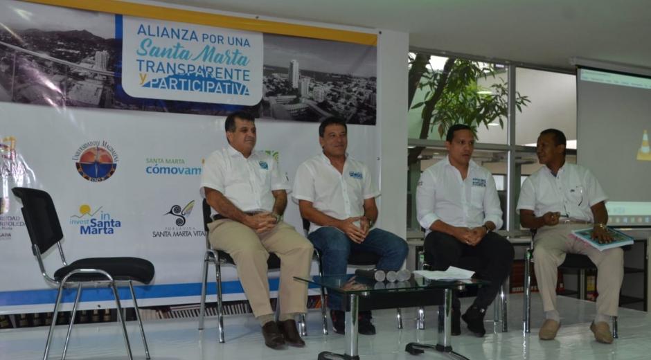Candidatos a la Alcaldía de Santa Marta
