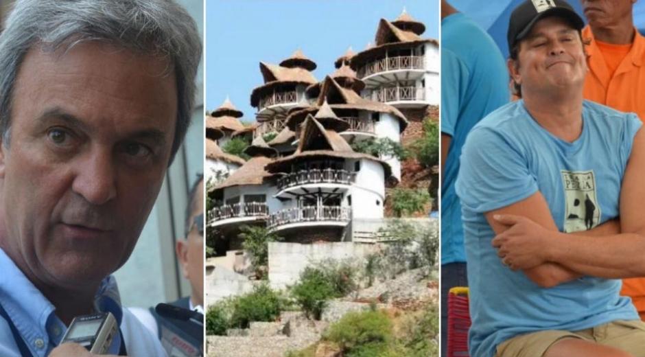 Carlos Diazgranados, director de Corpamag; hotel Jaba Nibue; Carlos Vives