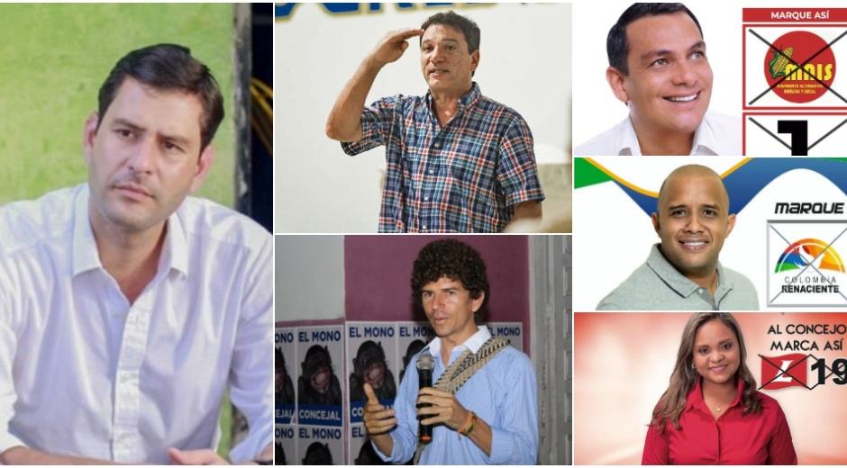Candidatos a los que no les fue bien en estas elecciones.