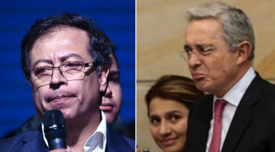 Petro y Uribe trsites