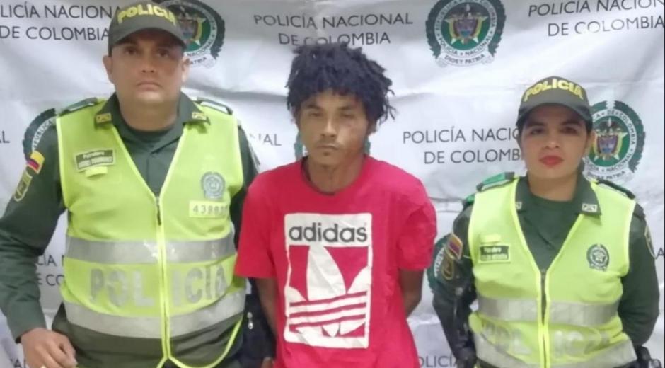 Omar David Mercado Palencia, el capturado.