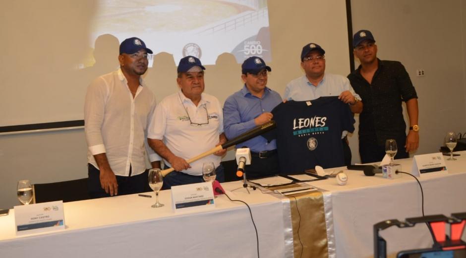 En la mañana de este jueves e hizo oficial la llegada de Leones a Santa Marta.