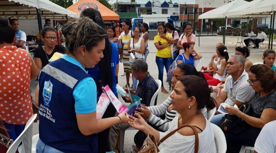 'Feria de la Equidad y el Buen Vivir' en el Mercado Público de Santa Marta