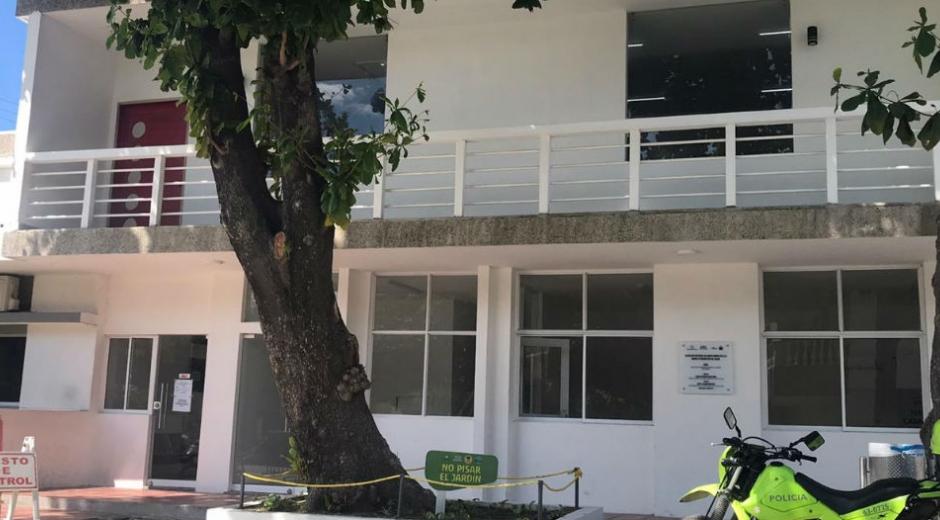 Centro de conciliación en Gaira.