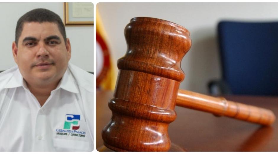 Luis Toribio Ceballos, abogado.