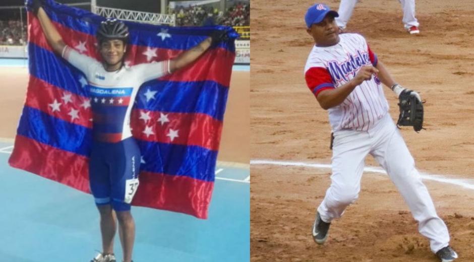 Kerstinck Sarmiento y la selección de sóftbol fueron los medallistas de oro del Magdalena.