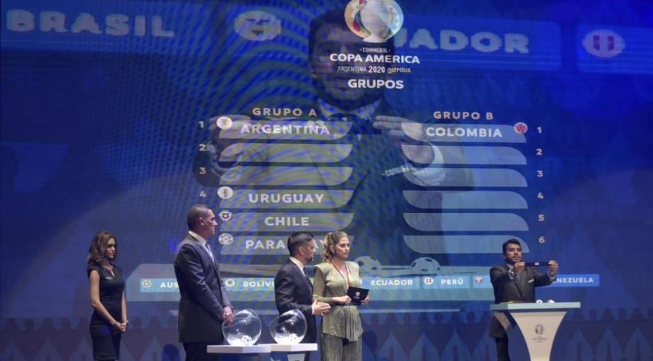 Sorteo de la Copa América.