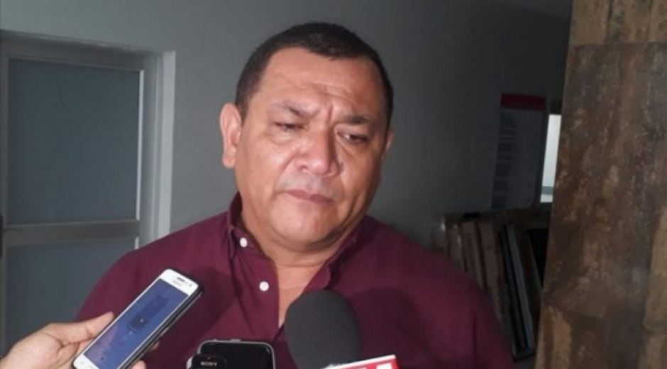 Alcalde de Sabanagrande, José Mario Romero Cahuana.