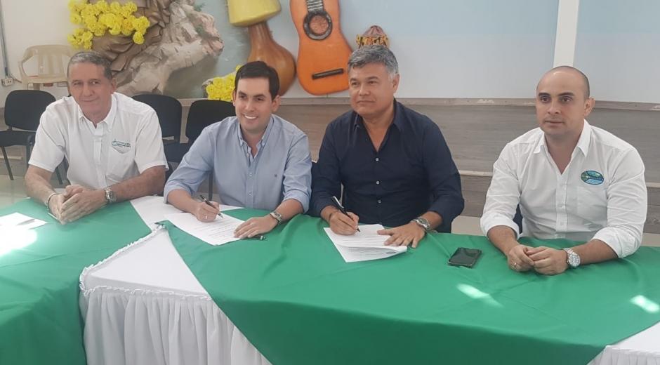 Firma de declaratoria de Ciénaga de Zapatosa como Área Protegida