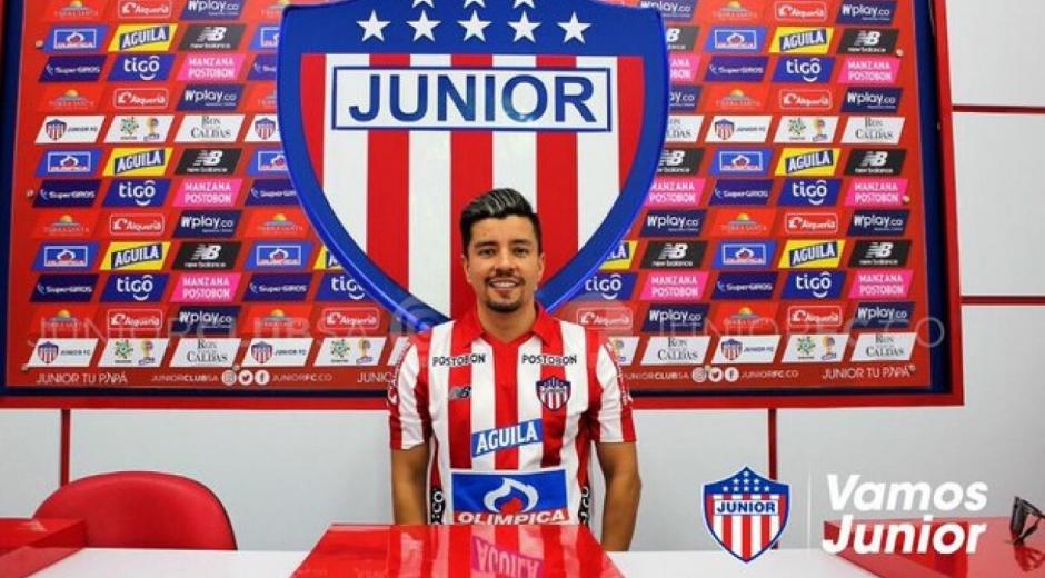 El volante llega procedente del Atlético Bucaramanga.