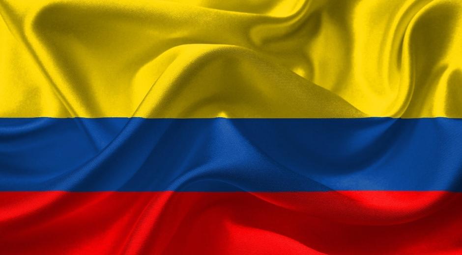Bandera de Colombia.