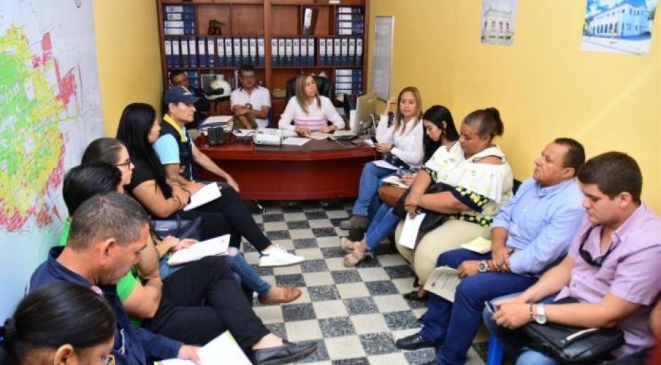 En el comité se destacó que el municipio trabajará en la construcción de un plan de acción o contingencia para afrontar las diversas situaciones.
