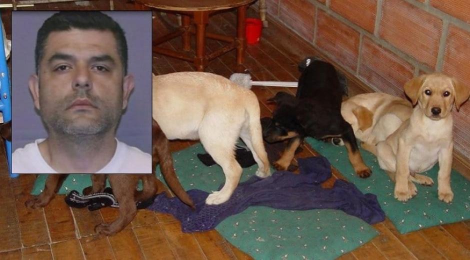 Andrés López Elorza, veterinario encarcelado.
