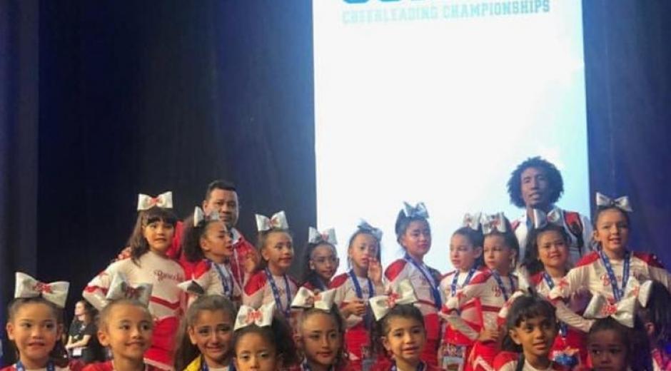 Las samarias se destacaron en el certamen internacional.