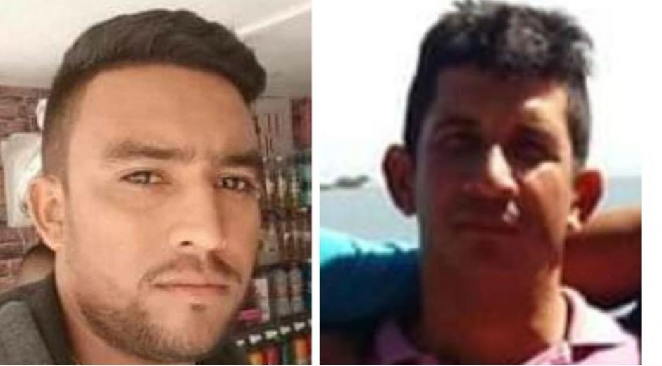 Carlos Andrés Andrade Mercado y Marcos Antonio González Castro.