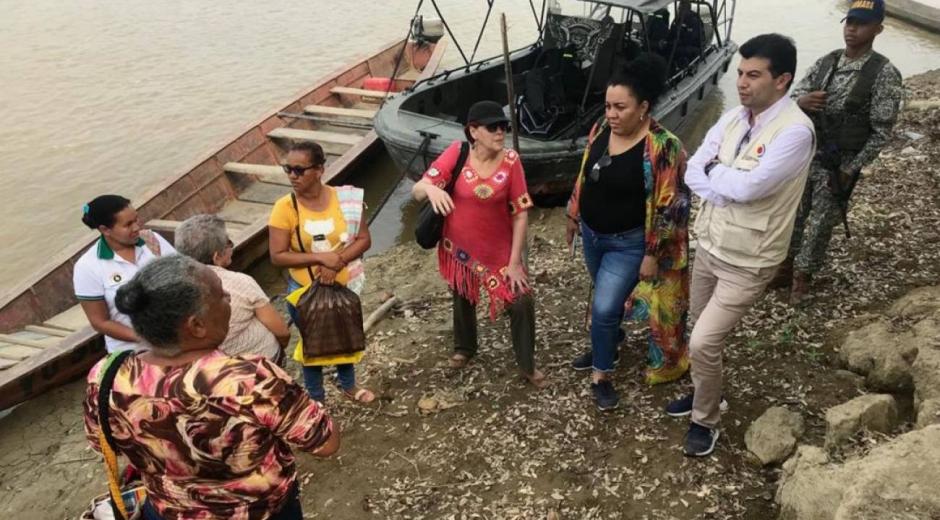 La pesca y los cultivos de maíz y arroz, los más afectados por bajo caudal del río Cauca.