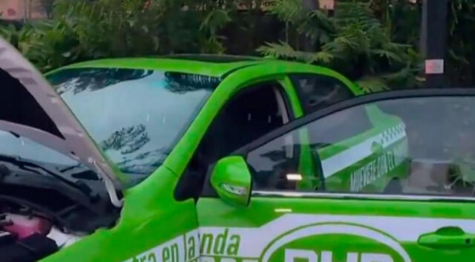 Primer taxi eléctrico en Medellín