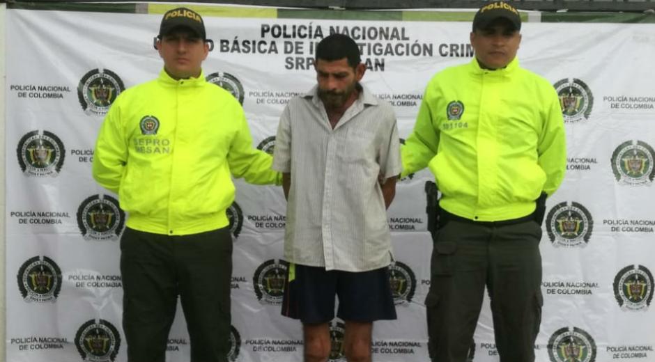 Eduardo Antonio Polo Muñoz, capturado.