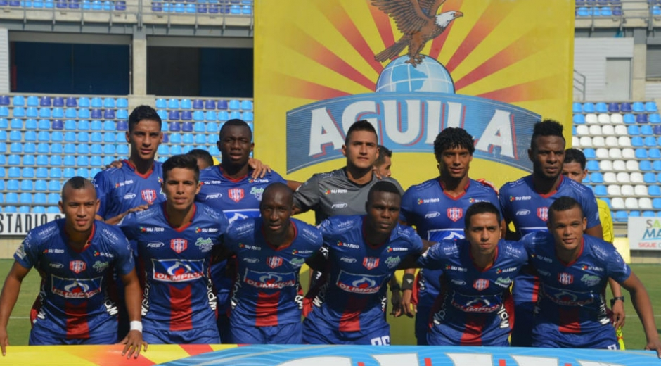 Equipo titular del Unión ante el Barranquilla F.C.