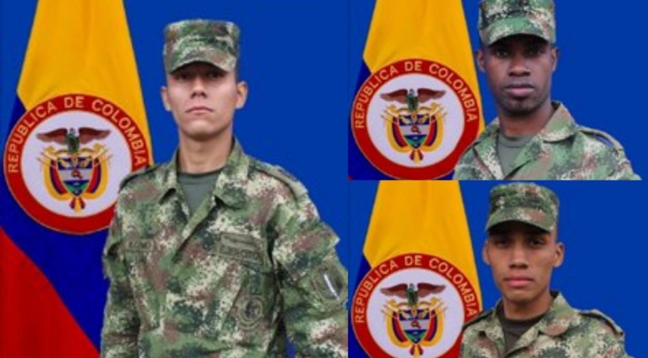 Soldados que murieron.
