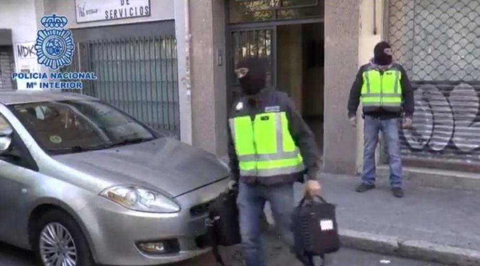 Operativo contra el ELN en España.