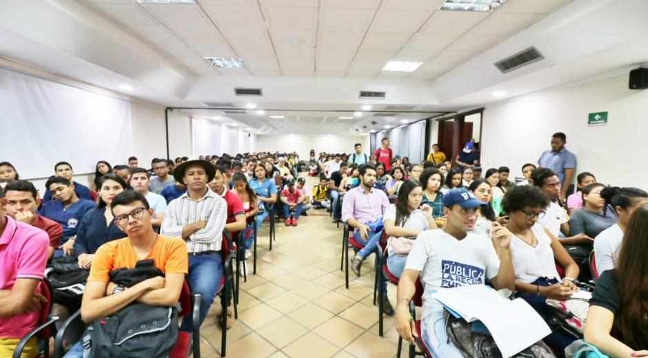 Esta iniciativa fue adelantada por el Departamento de Estudios Generales e Idiomas de la Alma Máter por medio de la cátedra de Formación Humanística y Ciudadana.