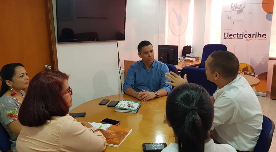 Reunión sobre la prestación del servicio de energía eléctrica en Ciénaga, Magdalena