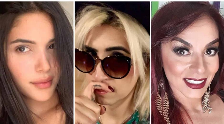 Mara Cifuentes, Ophelia Pastrana y Endry Cardeño.