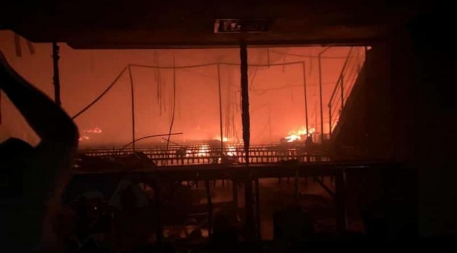 Incendio en el Buenavista II.