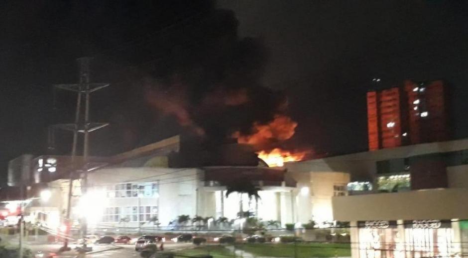 Incendio en el Centro Comercial Buenavista II