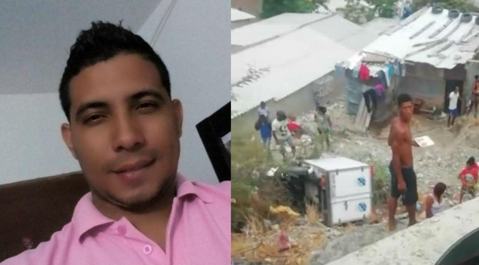 Carlos Andrés De la Rans Roncallo, fallecido en el accidente