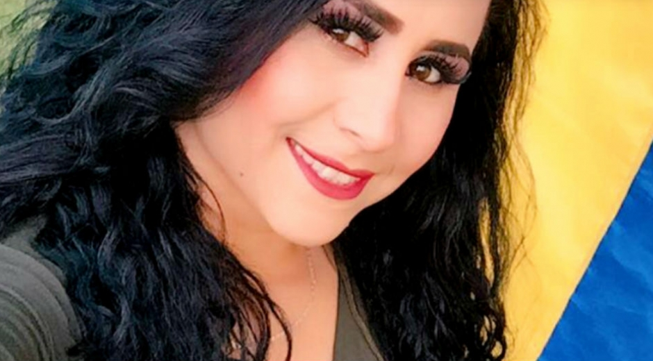 Angelica Súarez, acrobata colombiana