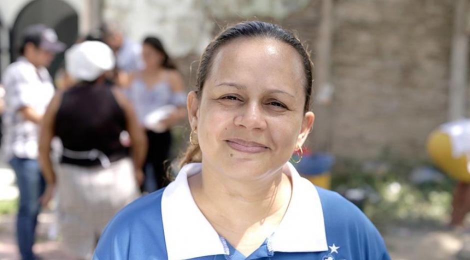 Líder social Mayerlis Angarita.