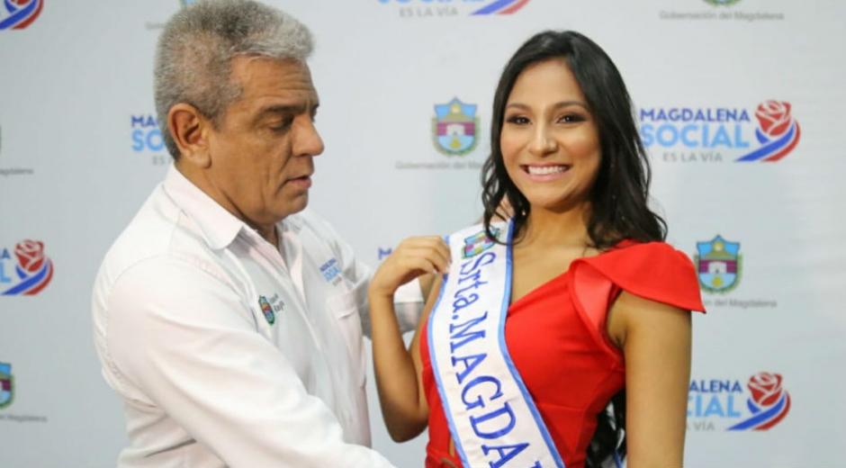 María Camila Charry Diazgranados, srta Magdalena al Reinado Nacional del Bambuco