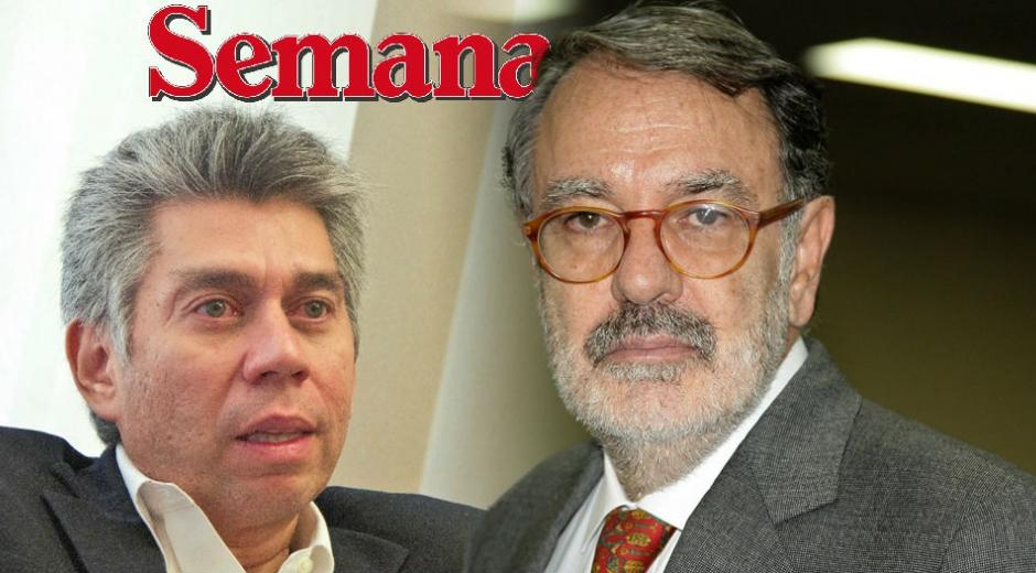 Daniel Coronell y Felipe López