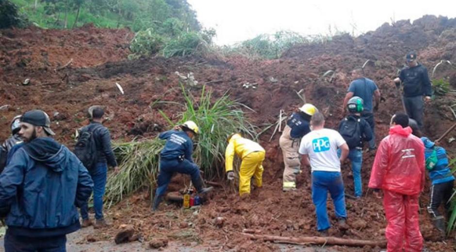 Derrumbe en Pereira deja 3 víctimas mortales