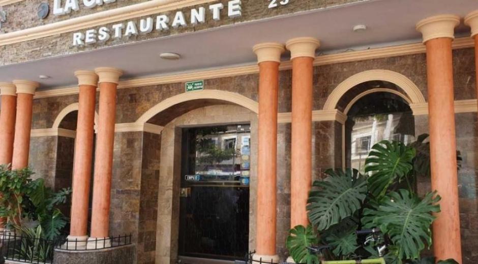 Fachada del restaurante La Gran Muralla, en Santa Marta.