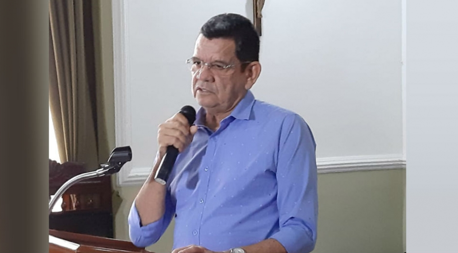 El director del Instituto Colombiano de Bienestar Familiar-Regional Magdalena; Joaquín González Iturriago.