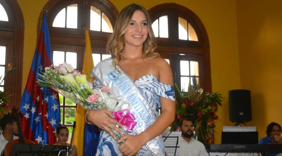 Patricia Hurtado Dávila, Reina Anfitriona de la Fiesta del Mar 2019